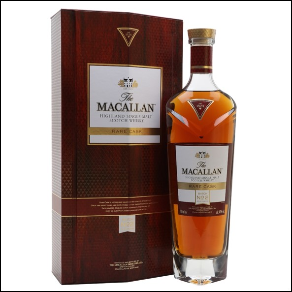 收購麥卡倫/Macallan Rare Cask Batch No.2 2018 Release 70cl 43%