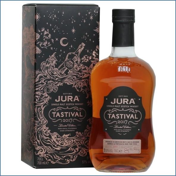 Isle of Jura Tastival 2017 Island Single Malt Scotch Whisky 70cl 51.2%