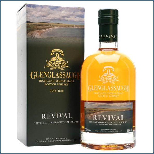 Glenglassaugh Revival Highland Single Malt Scotch Whisky 70cl 46%