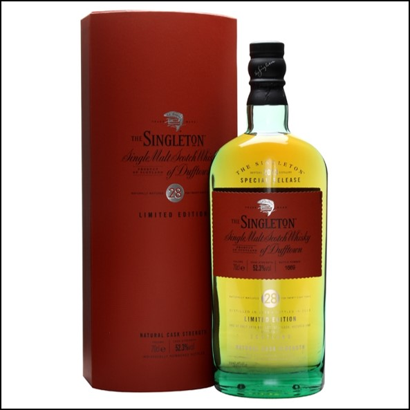 The Singleton of Dufftown 28 Year Old 1985 70cl 52.3% 蘇格登28年 原酒收購