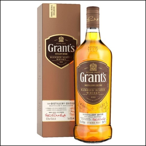 Grant's Distillery Edition Blended Scotch Whisky 100cl 46.3%