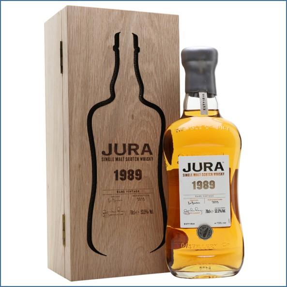 Jura 1989 Rare Vintage Island Single Malt Scotch Whisky 70cl 53.5%