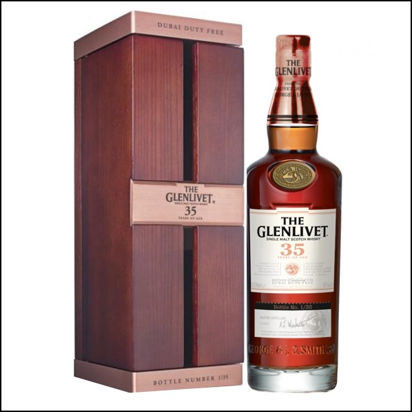 Glenlivet launches 35 year old 70cl 43% 2018