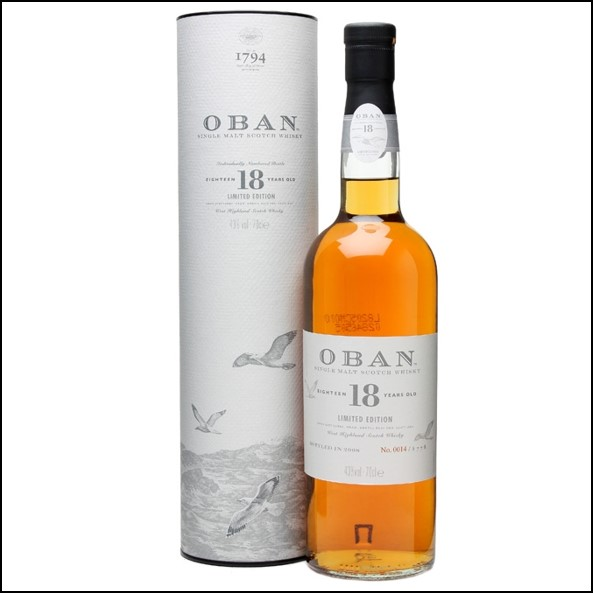 Oban 18 Year Old Limited Edition Bot.2008 70cl 43%