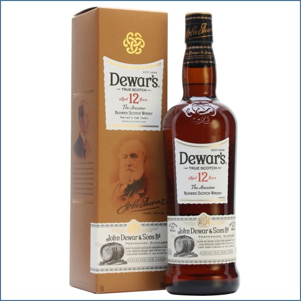 Dewar's 12 Year Old The Ancestor Double Aged 70cl 40%