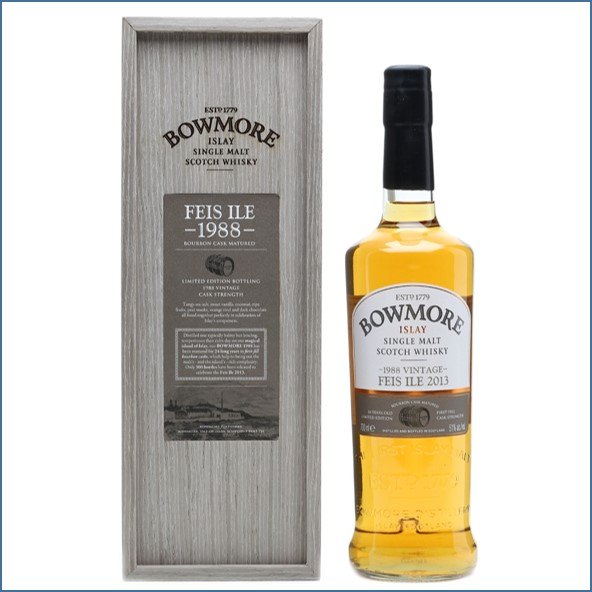 Bowmore 24 Year Old 1988 Vintage, Feis Ile 2013 70cl  51%
