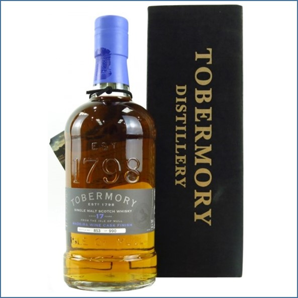 Tobermory 17 Year Old Madeira Finish 70 cl 55.5%
