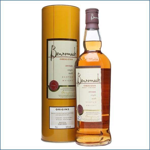 收購百樂門威士忌,百樂門威士忌收購, Benromach 2003 Origins 4 Port Pipes 70cl 50%