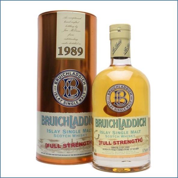 Bruichladdich 13 Year Old 1989 70cl 57.1%
