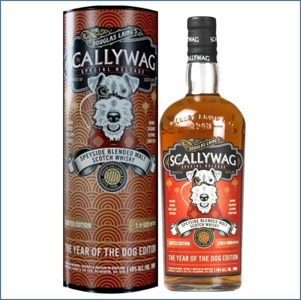 淘氣鬼調和威士忌Scallywag The Year of the Dog Edition 2018 Scotch Whisky Douglas Laing 70cl 48%