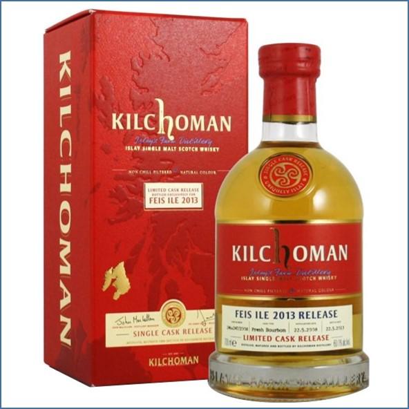 Kilchoman Feis Ile 2013 5 Year Old Release 2008 70cl  60.1%