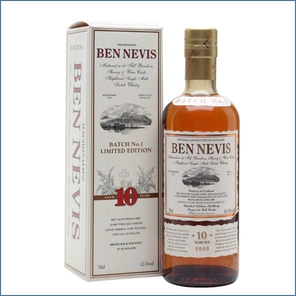 Ben Nevis 10 Year Old Cask Strength Batch No.1 70cl 62.4%