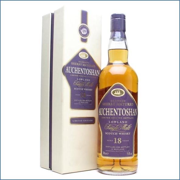 Auchentoshan 18 Year Old Oloroso Sherry 70cl 55.8%