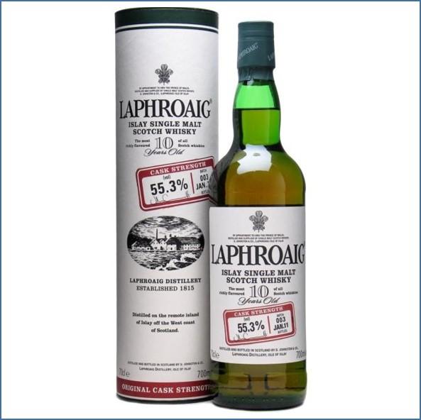 拉佛格10年原酒收購 Laphroaig 10 Year Old Cask Strength Batch 003 Bot.2011 70cl 55.3%