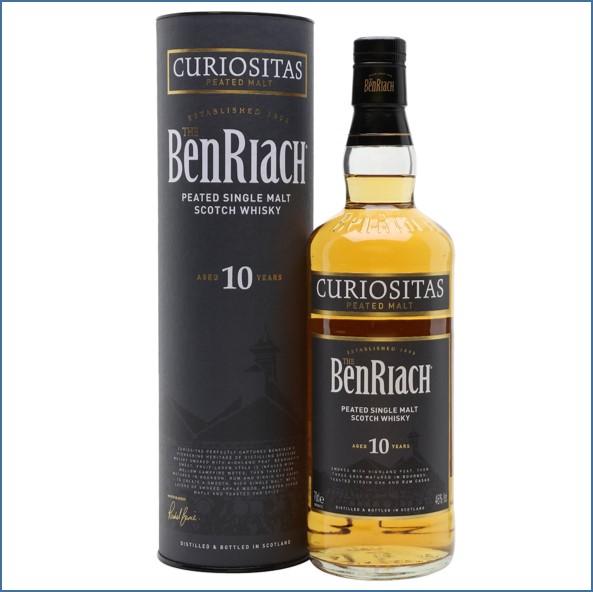 Benriach 10 Year Old Curiositas Peated Malt 70cl 46% 班瑞克10年 驚奇泥煤