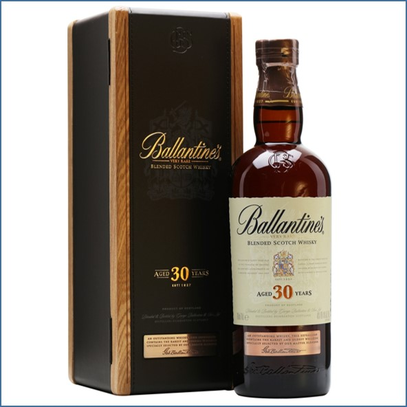Ballantine's 30 Year Old Blended Scotch Whisky 70cl 40%