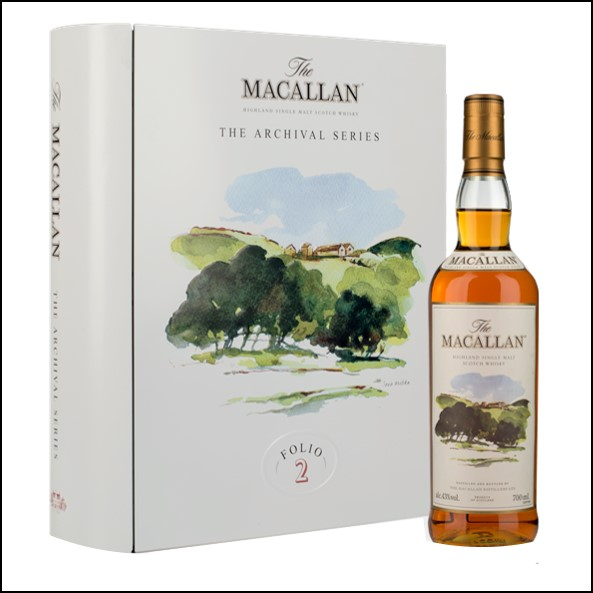 收購麥卡倫 書冊 2/ Macallan The Archival Series  Folio 2 70cl 40%