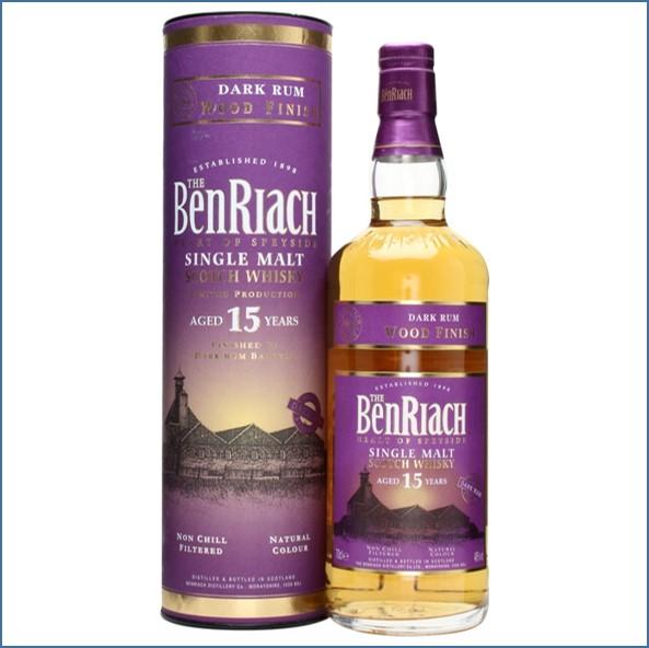 Benriach 15 Year Old Dark Rum Wood Finish 70cl 46% 班瑞克15年 蘭姆換桶