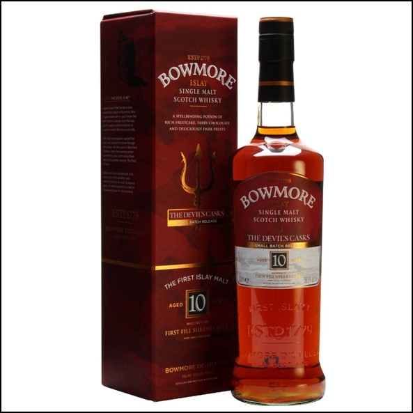 Bowmore 10 Year Old The Devil's Casks Batch 1 70cl 56.9%