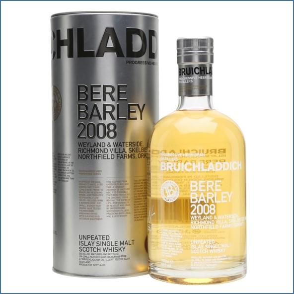 布萊迪收購 Bruichladdich Bere Barley 2008 6 Year Old Orkney Barley 70cl 50%