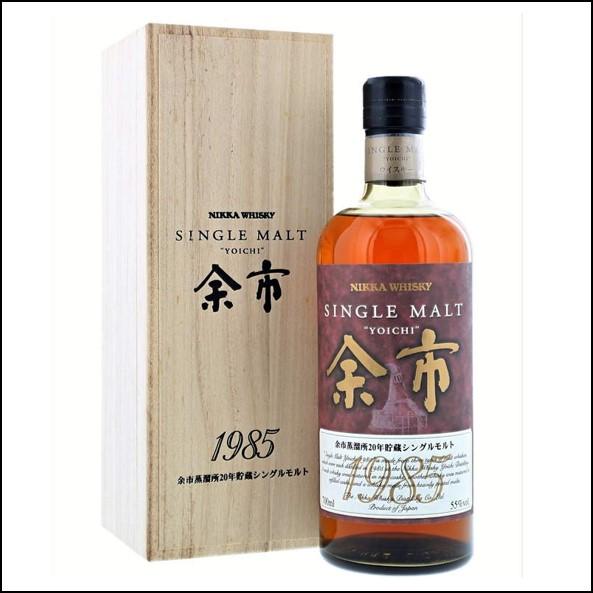 余市威士忌1985