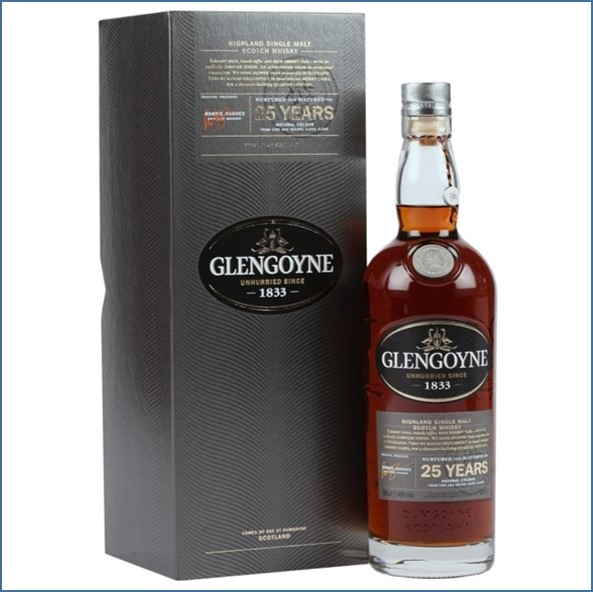 Glengoyne 25 Year Old - Sherry Cask 70cl 48%