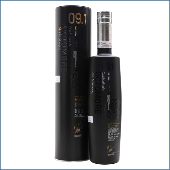 OCTOMORE 9.1  5 Year Old American Oak 70cl 59.1%