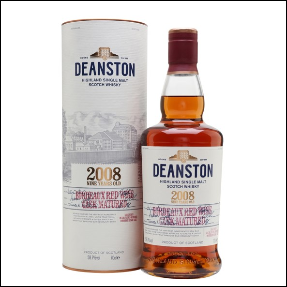 DEANSTON 2008 9 Year Old Red Wine Matured 70cl 58.7%