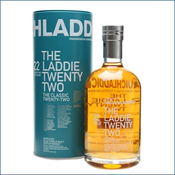 布萊迪收購 Bruichladdich 22 Year Old Laddie 70cl 46%