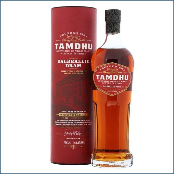Tamdhu Dalbeallie  Sherry Oak 70cl 62.1%