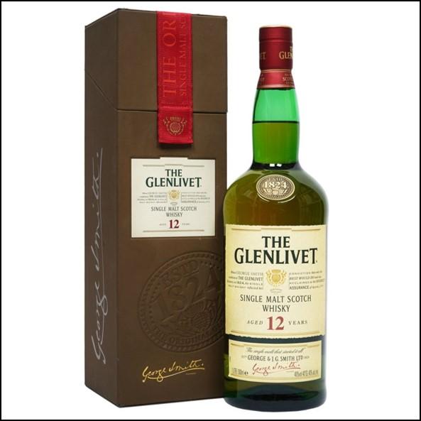 Glenlivet 12 Year Old  Bottled 2009 100cl 40%