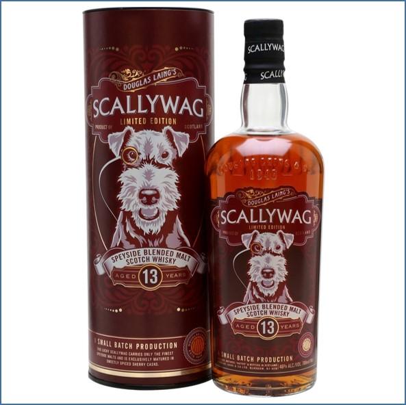 Scallywag 13 Year Old Speyside Blended Malt Scotch Whisky Douglas Laing 70cl 46%