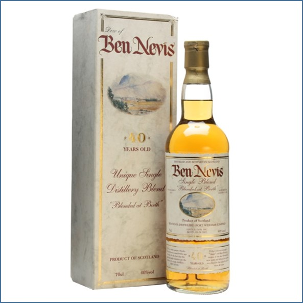 Dew of Ben Nevis 40 Year Old Single Blend Blended Scotch Whisky 70cl 40%