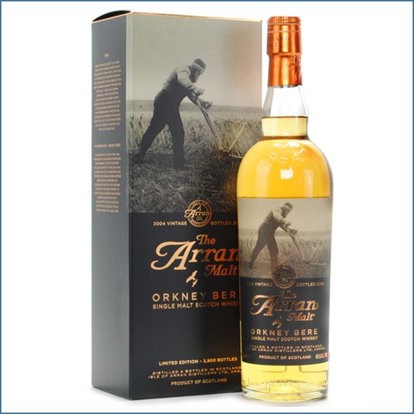 Arran 8 Year Old 2004 Orkney Bere Barley 70cl 46%