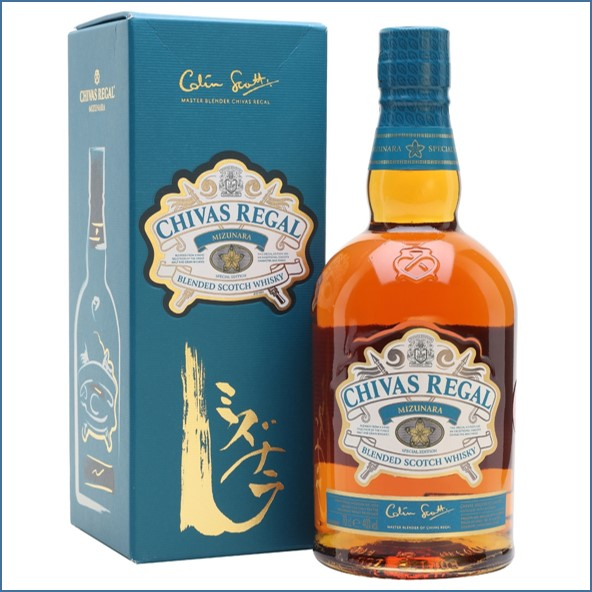 Chivas Regal Mizunara Blended Scotch Whisky 70cl 40%