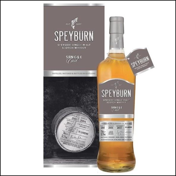 Speyburn 14 Year Old 2004 - 2017 #214 Single Cask for Shinanoya 70cl 52.5%