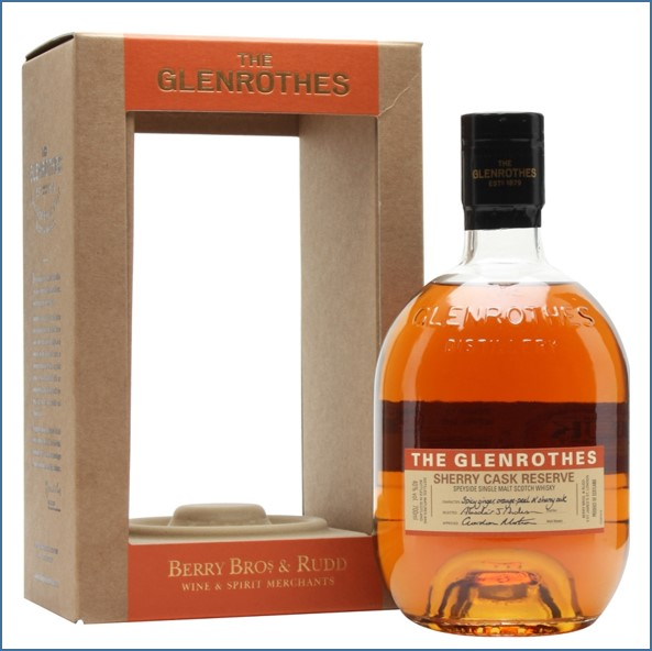 Glenrothes Sherry Cask Reserve 70cl 40%