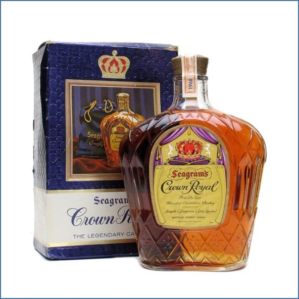 Crown Royal  Bot. 1968  75cl 40%