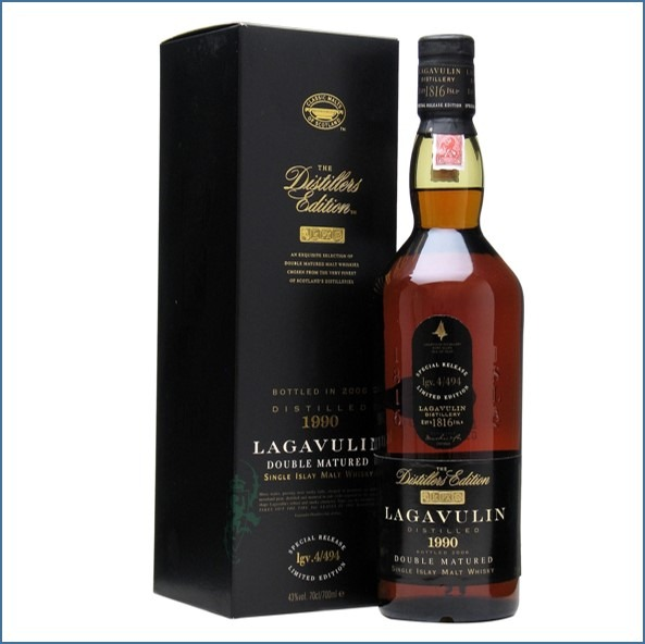 LAGAVULIN 1994 DISTILLERS EDITION Bot.2010 70cl 43% 拉加維林收購 1994-2010 雙桶