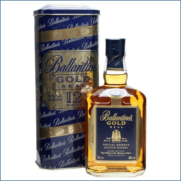 Ballantine's Gold Seal 12 Year Old 70cl 40%