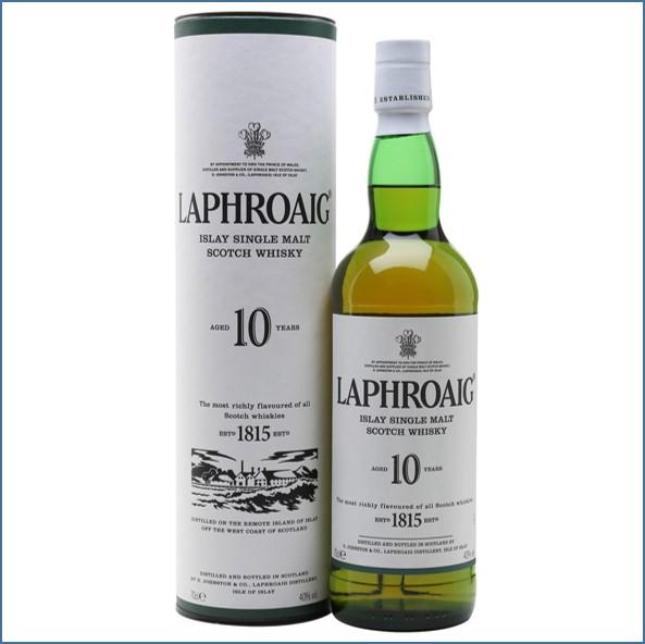 Laphroaig 10 Year Old 70cl 40%