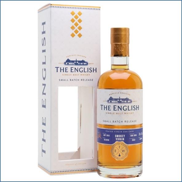 The English Whisky Small Batch Smokey Virgin 2012 Bot.2019 70cl 46%