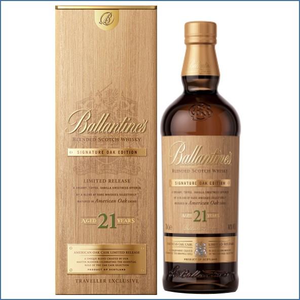 Ballantine's 21 Year Old Signature Oak Edition American  Oak Casks Limited Release 70cl 40%