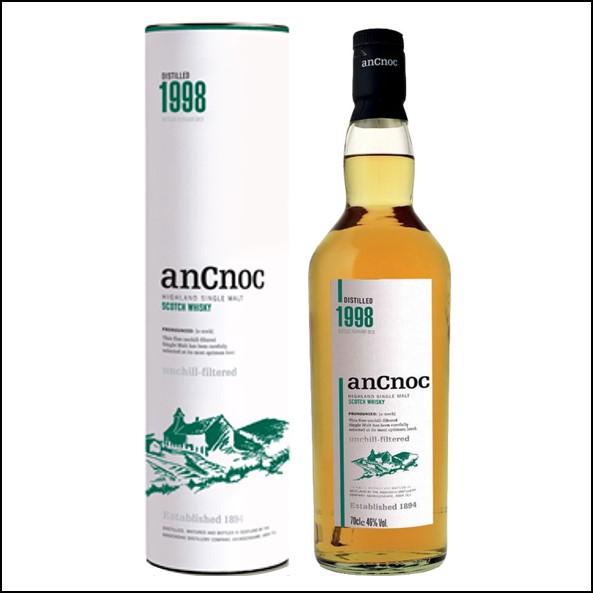 AnCnoc  1998 70cl 46%