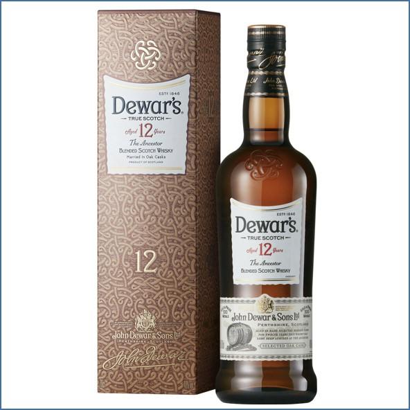 Dewar's 12 Year Old Blended Scotch Whisky 1846  75cl 40%