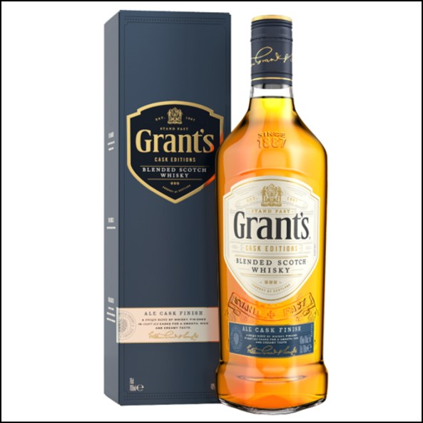 Grant Ale Cask Edition Blended Scotch Whisky 75cl 40%