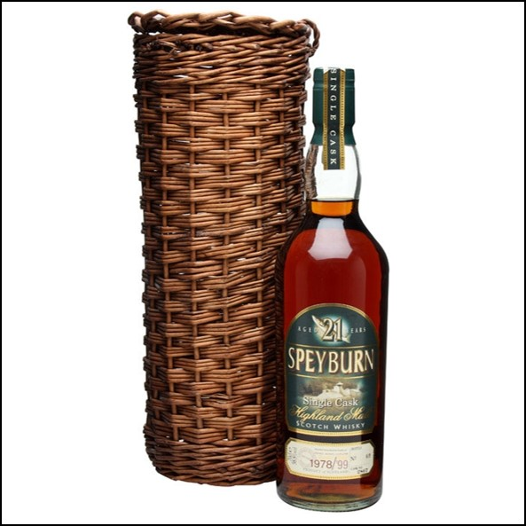 Speyburn 1978 21 Year Old Cask #2867 Speyside Single Malt Scotch Whisky 70cl 58.8%