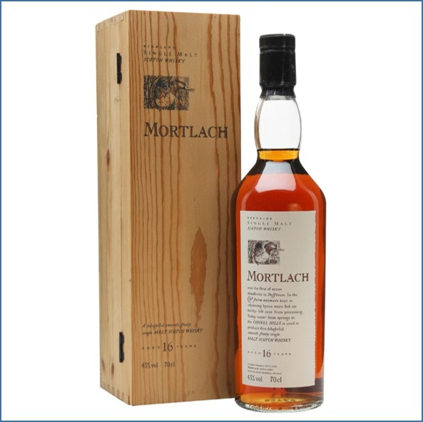 Mortlach 16 Year Old Flora & Fauna 70cl 43%