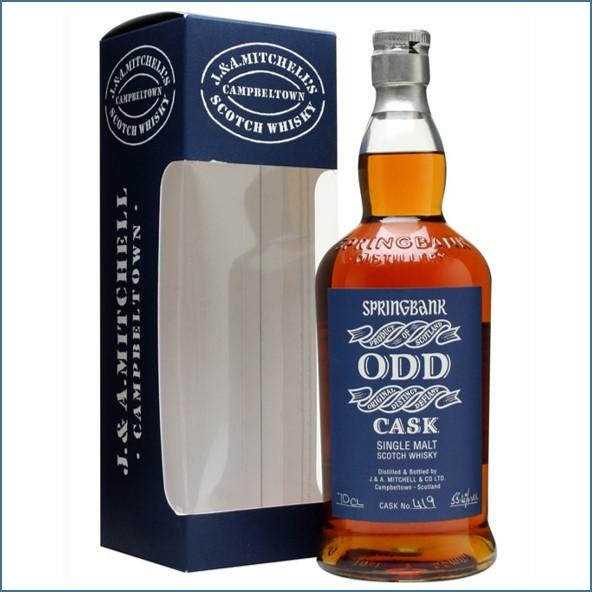 雲頂威士忌9年收購ODD/Springbank  9 Year Old ODD Red Wine Cask #419 1997 Campbeltown Single Malt Scotch Whisky 70cl 55.4%
