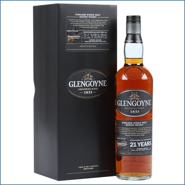 Glengoyne 21 Year Old - Sherry Cask 70cl 43%